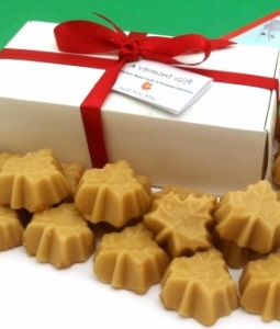 Happy Holidays! Maple Sugar Candy Gift Box