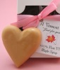 Heart-shaped Vermont Maple Sugar Candy Wedding Favor
