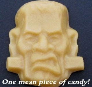 Individual Frankenstein Maple Candy