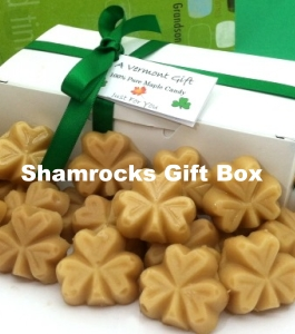 St. Patricks Day Maple Sugar Candy Gift Box