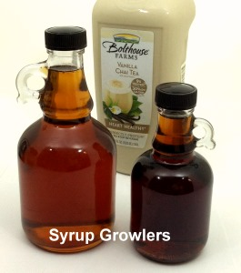 Pure Vermont Maple Syrup Growlers