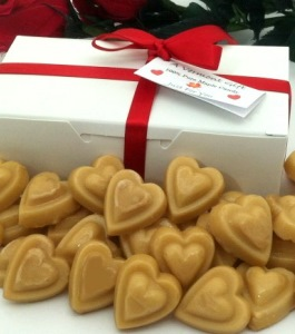 Valentines Day Maple Sugar Candy Gift Box