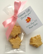 Maple Leafs Candy Wedding Favor In Cellophane Bag