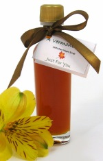 vermont maple syrup tall slim wedding favor