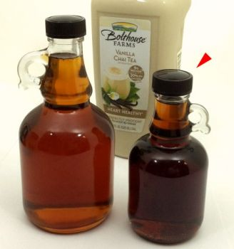 medium vermont maple syrup growler 8 45 oz glass bottle pieces of