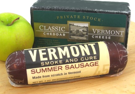 Vermont Smoke And Cure Summer Sausage 7 Oz Link Pieces